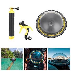TELESIN Dive Underwater Dome Port Photography Lens Cover for GoPro Hero 5 6 7 AU