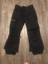 Burton Cargo ski pant Black size Medium short