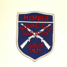 Vintage National Rifle Association (NRA) Patch - Member Junior 1971