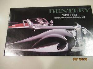1:24 Franklin Mint 1947 Bentley Mark VI Cabriolet  Franay coachwork black