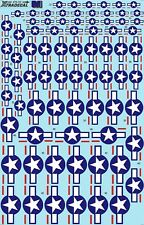 NEW 1:72 Xtradecal X72112 US US National Insignia. Stars and Bars