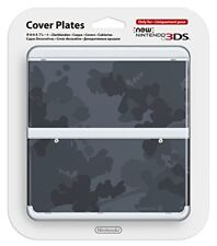 New Nintendo 3DS Kisekae Cover Plate No.045 Mario camouflage gray  F/S Japan