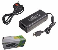AC Brick Adapter Power Supply for Xbox 360 Slim UK Mains Charger Cable 135W New