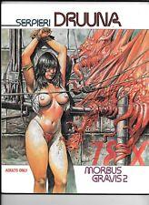 Morbus Gravis 2 Druuna by Serpieri 1991 FN/VF 64 pp.SC Heavy Metal Magazine Art