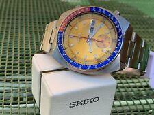 Seiko Pogue Pepsi 6139-6002 Excellent vintage chronographe