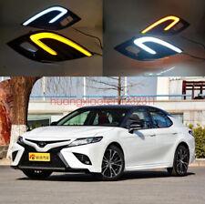 2x LED Fog Light Lamp Daytime Running Light Set For Toyota Camry 2018-2019