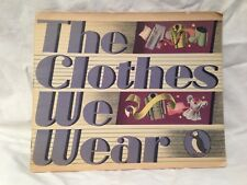 Jack Townend - Clothes We Wear - Puffin Picture Book - 1st/1st 1947, Lithographs
