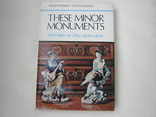 THESE MINOR MONUMENTS  CHINA APPRECIATION 1971 1st HB ill.VGC