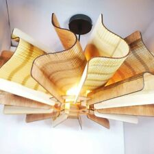 """Suspension lustre bois - MADE IN FRANCE - """"Helix"""" Sqydeco Créations"""