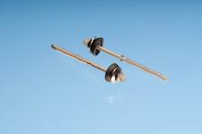 50 Bohrschrauben für GFK u. Faserzement Wellplatten 6,5 x 130 mm