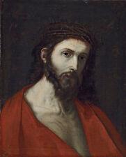 Oil painting Giovanni Battista Tiepolo - Ecce Homo Christ Jesus crown of thorns