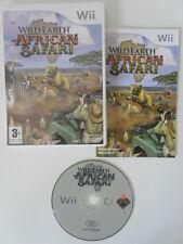 WILD EARTH AFRICAN SAFARI - NINTENDO WII - COMPLET