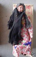 Vintage Cloth Egypt Woman Girl Ethnic Doll in Original Box