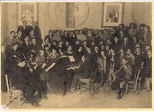 1930 CAMPOBASSO IL CORO DELL'ISTITUTO MAGISTRALE GRANDE FORMATO 21X30