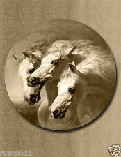 Pharaoh's/Horses/vintage Equestrian Art Print/Poster Reproduction/17x22 inch
