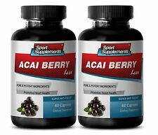Give You Extra Energy Capsules - Acai Berry Lean 550mg - Acai Fruit Organic 2B