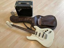 E-Gitarre Prince STC-33 + Fender Frontman Amp PR 241 38 Watt