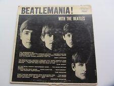 THE BEATLES ORIGINAL 1963 CANADIAN  LP BEATLEMANIA