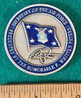Внешний вид - 1999 USAF Secretary SAF F. Whitten Peters 45mm Pewter Challenge Coin XLNT RP