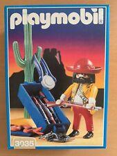 Playmobil 3035 Waffenhändler Cowboy Mexikaner (Western) NEU OVP VERSIEGELT MIB