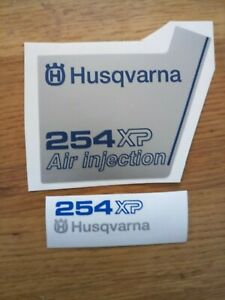 Husqvarna non-OEM 254 XP COVER sticker decal set