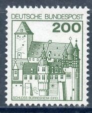 STAMP / TIMBRE ALLEMAGNE GERMANY N° 767 ** CHATEAU DE BURRESHEIM