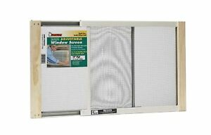 Frost King WB Marvin AWS1025 Adjustable Window Screen, 10in High x Fits 15-25in