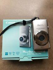 Canon Powershot Sd3500 Is Silver Digital Camera {14.1 M/P}