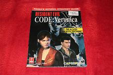 Resident Evil CODE: Veronica offizieller Spieleberater Dreamcast PlayStation