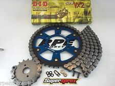 Z750 04-11 ZR750 BLUE SUPERSPROX DID CHAIN AND SPROCKETS KIT KAWASAKI Quick Accl