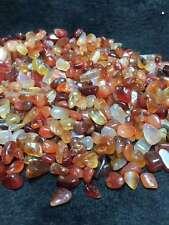 Natural Red Agate Medium Green, med. tumbled bulk stones quartz 1000g 2.2lb