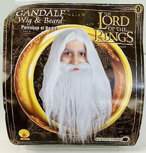 Rubie's Lord Of The Rings Gandalf Beard & Set Wig, White ~Halloween~Dress up