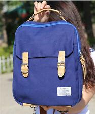 Korean style Women Canvas Backpack Men Schoolbag Laptop Bag Fashion Shoulder Bag