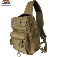 Viper Military Lazer Shoulder MOLLE Pack Operator Carry Bag 10L - Coyote