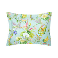 YVES DELORME | BOUQUETS PILLOWCASE 300TC EGYPTIAN COTTON 60% OFF RRP