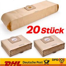 20x Staubsaugerbeutel Filtertüten Für Kärcher 6.959-130.0 Staubsauger MV 3 WD 3