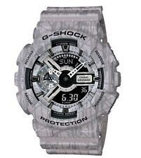 Casio G Shock * GA110SL-8A Slash Pattern Anadigi Gshock Watch XL Grey COD PayPal