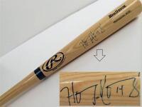 HANLEY RAMIREZ Signed Big Stick Baseball Bat COA
