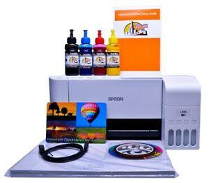 Sublimation printer A4 non oem Epson L3156 starter bundle kit With Software