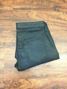 MOSSIMO Midrise Jegging Skinny Leg Stretch Black Denim Jeans Womens Size 6 R /28