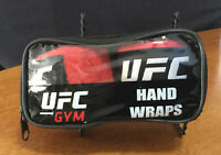 UFC Gym Hand Wraps - Red - Exercise, Kickboxing, Boxing, Gym - In Case - EPOC