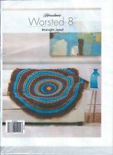 Herrschners Midnight Jewel Blanket Afghan Crochet Kit