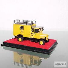 Woytnik 0201 Kleinserien Elektro Paketwagen aus Messing/Metall für Maßstab 1:87