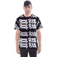 Cheap Trick Rock Band Legend Sublimation Men Sport Mesh Tee T-Shirt Size XS-3XL