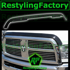 10-15 Dodge Ram 2500+3500 HD Smoke Black Hood Shield Guard Bug Air Deflector