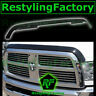 Smoke Black Hood Shield Guard Bug Air Deflector for 10-18 Dodge Ram 1500+2500+35