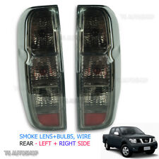 Fits D40 Nissan Navara Frontier 2006 2013 Back Outlaw Tail Rear Light Lamp Smoke