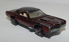 Redline Hotwheels Brown 1968 Custom Eldorado oc16638
