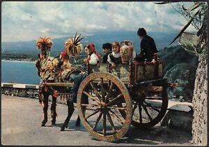 AA9989 Carretto Siciliano - Cartolina postale - Vintage Postcard