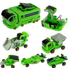7 in 1 Solar Power Car Kit Educational Birthday Toy kids Funny Gift Rechargeable
